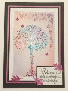Created by Tracy Nutton, using Sweet Poppy stencils and pearlescent paste sprinkled with brushos.