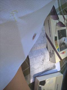 deine Stickbox: Ein neuer Start im Freibad, Juli 2017 A new start, summer 2017 Stitch your photo! Sticke dein Foto! Neuer Start, Box, Lounge, Summer, Pictures, Airport Lounge, Snare Drum, Drawing Rooms, Summer Time