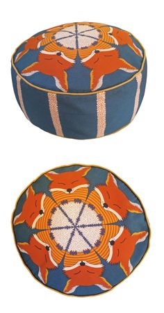 Fox pouffe from Orwell and Goode - a shop for me I think.