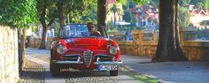 Lago Maggiore Cannero Riviera Alfa Romeo Giulia Spider Veloce | Nostalgic Oldtimerreisen