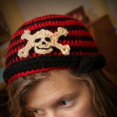 Skull Cap Crochet Pattern on etsy