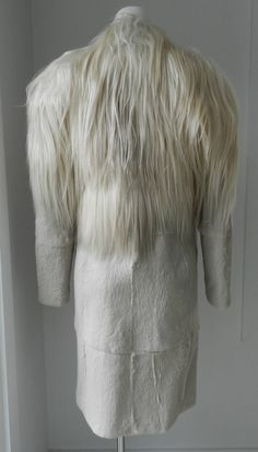 Martin Margiela 2011 Goat Hair and Rabbit Fur Coat image 4