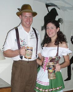 Home Buying Help u2013 Money Management Tools u2013 Home Decorating Ideas u2013 Free Recipes  sc 1 st  Pinterest & Funny Homemade Couple Costume: Stereotypical Germans | Pinterest ...