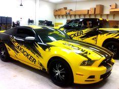 Stillwater Kicker Car Wraps | Precision Sign & Design