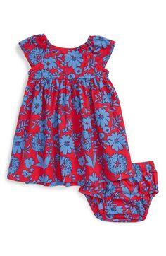 Tea Collection 'Il Piu Bello' Floral Print Dress (Baby Girls)