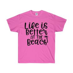 2f27abe59cb3c Life is Better at the Beach - Premium Fitted Crew