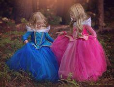 Ella Dynae confectionne des robes de princesses: La belle au bois dormand