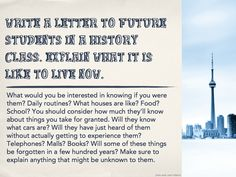 #610  letter to future history students, cross posted at Big Universe