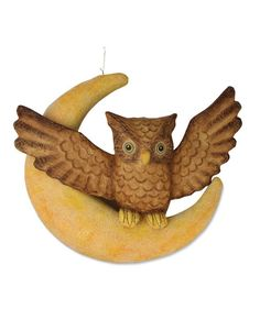 Hanging Owl On The Moon from The Holiday Barn