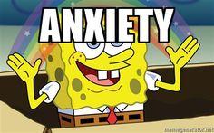 Anxiety - Spongebob Imagination meme | Meme Generator
