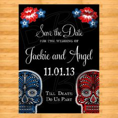 Dia De Los Muertos Day of the dead Wedding
