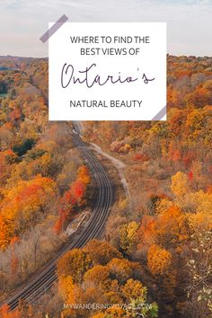 There's no doubt that Ontario is a beautiful place. See it from above with these 25 best scenic lookouts in Ontario. Weekend Trips, Day Trips, Ontario Travel, Ontario Camping, Cheltenham Badlands, Places To Travel, Places To See, Manitoulin Island, Travel Wallpaper