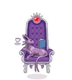 hey guys, how do i stop my psychic fox-cat from levitating the furniture Pokemon Tumblr, Pokemon Gif, Pokemon Memes, Pokemon Fan Art, Pokemon Stuff, Pokemon Eeveelutions, Eevee Evolutions, Furry Comic, Pokemon Pictures
