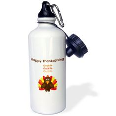 High gloss image printed directly to the white glossy exterior surface. The image on both sides. The color will not run or fade with use. Color: Brown, Theme: Happy Thanksgiving Im Thankful For You Workout Pictures, Fitness Pictures, Stainless Steel Water Bottle, Happy Thanksgiving, High Gloss, Hand Washing, Brown, Prints, Surface