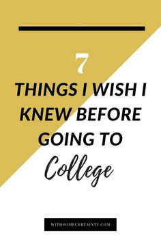 College is a whirlwind experience and goes by way too fast. Here are ten things…