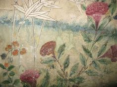 18th Century Chinese Wallpaper Screen | From a unique collection of antique and modern screens at https://www.1stdibs.com/furniture/more-furniture-collectibles/screens/