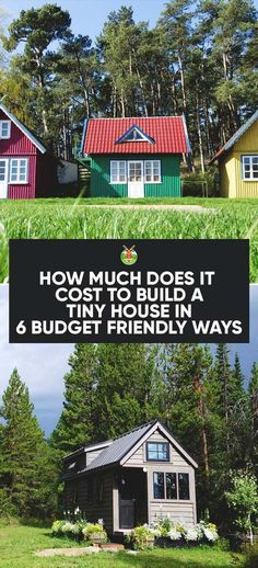 The answer to 'How much does it cost to build a tiny house?' and 6 effective ways to keep within a tight budget to make your dream tiny house come true.