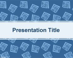Kids education PowerPoint Template is a blue theme template for PowerPoint with square pattern effects in the slide design