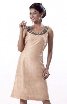 Shinayale's Bead Embellished Sleeveless Dress
