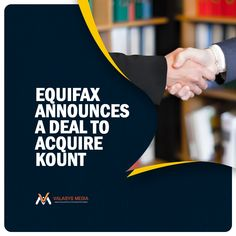 Equifax entered an #agreement to acquire artificial intelligence-powered fraud prevention and digital identity #technology provider Kount, in a deal worth $640 million. The agreement materialized in Atlanta where Equifax CEO Mark W. Begor stated that the acquisition of Kount will expand Equifax's differential data assets to bring global businesses the information and solutions they require to inspire trust online.