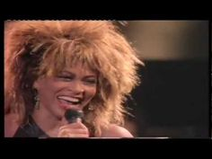 Tina Turner & David Bowie -Tonight (Private Dancer Tour 1985) - YouTube