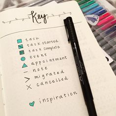 """""""Don't ask how long it took me to get this right.. I'm obsessed with this #bulletjournal fun. #bujo"""""""