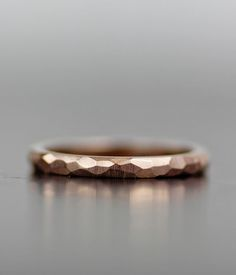 simple gold faceted or flat wedding band 14K yellow, white or rose gold or palladium. 2mm 2.5mm 3mm 4mm 5mm Also available in other materials or...