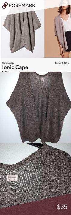 XXS Aritzia Community Grey Cardigan I've worn it a few times Aritzia Sweaters Cardigans