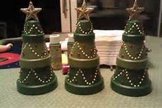 Terra Cotta Pot Christmas Crafts