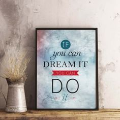 Motivational, Poster Prints, Printables, Inspirational, Printed, Print Templates, Prints