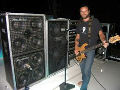 """fuckyeabassplayers: """" Justin Chancellor/Tool """" Hey ya'll. Justin Chancellor, Guitar Pedal Board, I Love Bass, Maynard James Keenan, All About That Bass, A Perfect Circle, Music Images, Pedalboard, Guitar Pedals"""