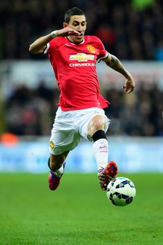 Man United record signing in full action