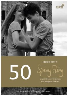 Book 51 - 12 Scottish Country Dances.  This book celebrates our youth event, Spring Fling, with a special dance written for this specifically!  #SCD #scottishcountrydancing #springfling #youth #dancing #scottish #dancescottish #heritage #scotland #standrews