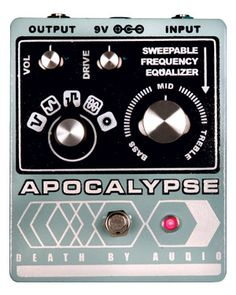 Death by Audio Apocalypse Pedal Review