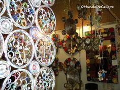 Mandala feita com revistas [passo-a-passo] - O Mundo de Calíope
