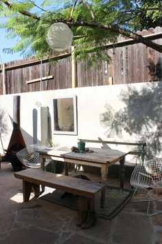 http://www.apartmenttherapy.com/alex-sarahs-well-traveled-and-spiritual-homehouse-tour-180081