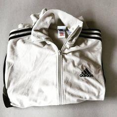 7a1e69ed70d4 Vintage Adidas Jacket   Mens   Womens   Large   L   Beige   Black