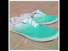 Quick & Easy DIY Ombre Shoes