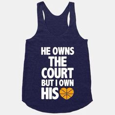 The cutest t-shirt for your basketball boyfriend