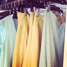 What is your favourite colour for your ultimate summer wardrobe?  #questionoftheday #fashion #clothes