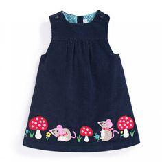 Girls' Mouse Jumper Dress   JoJo Maman Bebe