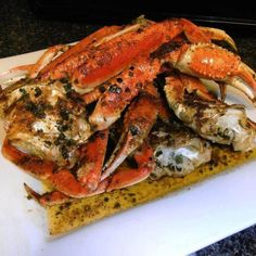 Crab Legs Crabs And Quick And Easy Recipes On Pinterest