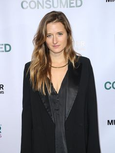 Grace Gummer is seen attending the premiere of Mister Lister Film's 'Consumed' at Laemmle Music Hall.