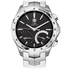 Tag Heuer Calibre S 1/100th Sec Electro-Mechanical Chronograph 43 mm