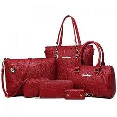 Simple Crocodile Print and PU Leather Design Women's Tote Bag #jewelry, #women, #men, #hats, #watches