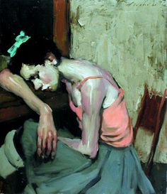 Malcolm T. Liepke - so hard to choose just one painting by him. His work is lovely.