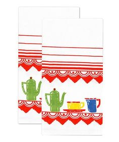Deco Kitchen Flour Sack Towel - Set of Two
