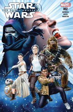 Star Wars: The Force Awakens Adaptation #2 (of 6) #Marvel @marvel @marvelofficial #StarWars #TheForceAwakens (Cover Artist: Mike Mayhew) Release Date: 7/27/2016