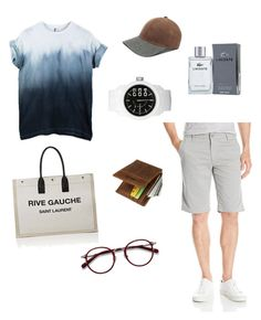 """""""Casual Style"""" by aida-sbotv on Polyvore featuring Gents, AG Adriano Goldschmied, EyeBuyDirect.com, Lacoste, Diesel, Yves Saint Laurent, men's fashion and menswear"""