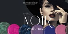 We couldn't wait to get our hands on these film noir-inspired hues, nor wait to get them on our nails! http://www.thenailscape.com/cuccio-cinema-noir-collection-swatches/